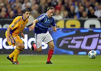 Fotball<br /> Frankrike<br /> Foto: DPPI/Digitalsport<br /> NORWAY ONLY<br /> <br /> FOOTBALL - FIFA WORLD CUP 2010 - QUALIFYING ROUND - GROUP 7 - FRANKRIKE v ROMANIA  - 5/09/2009<br /> <br /> FRANCK RIBERY (FRA)