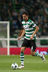November 22, 2017 - Lisbon, Portugal - Sporting's defender Andre Pinto from Portugal in action during the UEFA Champions League group D football match Sporting CP vs Olympiacos FC at Alvalade stadium in Lisbon, Portugal on November 22, 2017. (Credit Image: © Pedro Fiuza/NurPhoto via ZUMA Press)