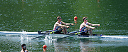 Lucerne, SWITZERLAND, Men's Lightweight  Double Scull Semi Final A/B, Semi Final A/B. GBR LM2X. Bow William FLETCHER and Richard CHAMBERS.  Saturday  28/05/2016<br /> [Mandatory Credit; Peter SPURRIER/Intersport-images]
