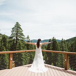 A destination wedding in Lake Tahoe, California.