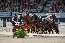 Harm Mareike (GER), Tulipan Allegra Xxxiv-4, El Chico, Luxus Boy, Quebec Sautreuil, Zazou<br /> JIM Maastricht 2019<br /> CSI4* Van Mossel Prix<br /> © Hippo Foto - Dirk Caremans<br />  09/11/2019