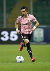 March 10, 2018 - Palermo, Sicily, Italy - Igor Coronado of Palermo during the serie B match between US Citta di Palermo and Frosinone at Stadio Renzo Barbera on March 10, 2018 in Palermo, Italy. (Credit Image: © Gabriele Maricchiolo/NurPhoto via ZUMA Press)
