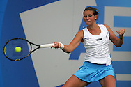 Aegon Classic international women's tennis at the Priory Club, Birmingham ,England on Monday 8th June 2009. Katie O'Brien of Great Britain in action.