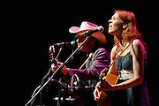 BETHESDA, MD - August 2nd, 2011 - Gillian Welch and David Rawlings perform at the Strathmore Music Hall in Bethesda. The duo, who record under the name Gillian Welch, released the album The Harrow & The Harvest in June.   (Photo by Kyle Gustafson/FTWP)