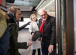 © Licensed to London News Pictures. 06/01/2020. London, UK. JON TRICKETT MP, arrives for a Labour Party NEC meeting in London where the upcoming leadership election will be organised. Current leader Jeremy Corbyn pledged to step down after the Conservative party won an 80 seat majority at a general election. Photo credit: Ben Cawthra/LNP