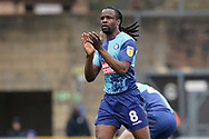 Goal, Marcus Bean of Wycombe Wanderers scores, Wycombe Wanderers 1-2 Portsmouth during the EFL Sky Bet League 1 match between Wycombe Wanderers and Portsmouth at Adams Park, High Wycombe, England on 6 April 2019.