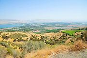 Israel, Lower Galilees, View of the Sea of Galilee
