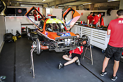 June 2, 2017 - Le Mans, France - 22 G-DRIVE RACING (RUS) ORECA 07 GIBSON LMP2 JOSE GUTIERREZ (MEX) RYO HIRAKAWA (JPN) MEMO ROJAS  (Credit Image: © Panoramic via ZUMA Press)
