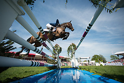 Speirs Camilla, (IRL), Portersize Just a Jiff<br /> CCI4* - Mitsubishi Motors Badminton Horse Trials 2016<br /> © Hippo Foto - Jon Stroud
