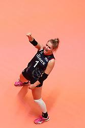 20180531 NED: Volleyball Nations League Netherlands - Brazil, Apeldoorn<br />Kirsten Knip (1) of The Netherlands <br />©2018-FotoHoogendoorn.nl