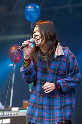 CSS on the main stage, the Connect festival in Inveraray.<br /> ©Pic : Michael Schofield.