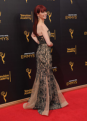 Carrie Preston bei den Creative Arts Emmy Awards in Los Angeles / 100916<br /> <br /> <br /> *** at the Creative Arts Emmy Awards in Los Angeles on September 10, 2016 ***