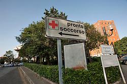 Taranto, maggio 2013.Ospedale SS Annunziata con Pronto Soccorso