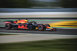 May 11, 2018 - Barcelona, Catalonia, Spain - DANIEL RICCIARDO (AUS) drives during the second practice session of the Spanish GP at Circuit de Catalunya in his Red Bull RB14 (Credit Image: © Matthias Oesterle via ZUMA Wire)