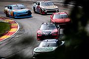 Henry 180, Road America in Elkhart Lake, Wisconsin. Tommy Joe Martins, 44, Chevrolet, Skyview, Martins Motorsports , Kyle Weatherman, Mike Harmon Racing, Chevrolet