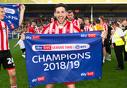 - Mandatory by-line: Alex James/JMP - 22/04/2019 - FOOTBALL - Sincil Bank Stadium - Lincoln, England - Lincoln City v Tranmere Rovers - Sky Bet League Two