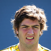 Rob Simmons, Australia, during the Australian team's Captain's run at Eden Park in preparation for the third against fourth play off match with Wales at the IRB Rugby World Cup tournament, Auckland, New Zealand. 20th October 2011. Photo Tim Clayton...