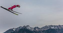 02.01.2016, Bergisel Schanze, Innsbruck, AUT, FIS Weltcup Ski Sprung, Vierschanzentournee, Training, im Bild Simon Ammann (SUI) // Simon Ammann of Switzerland during his Practice Jump for the Four Hills Tournament of FIS Ski Jumping World Cup at the Bergisel Schanze, Innsbruck, Austria on 2016/01/02. EXPA Pictures © 2016, PhotoCredit: EXPA/ JFK