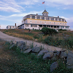 Monhegan Island, ME. The Island Inn.