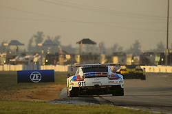 March 15, 2019 - Sebring, UNITED STATES OF AMERICA - 911 PORSCHE GT TEAM (DEU) PORSCHE 911 RSR GTLM PATRICK PILET (FRA) NICK TANDY (GBR) FREDERIC MAKOWIECKI  (Credit Image: © Panoramic via ZUMA Press)