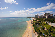 Waikiki Beach, Fort DeRussey, Oahu, Hawaii