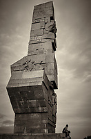 Westerplatte Monument. Walkabout in Westerplatte Memorial Park. Image taken with a Leica X2 camera and 24 mm lens.