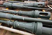 's-HERTOGENBOSCH   oude lantaarnpalen van de Markt