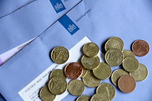Nederland, Ubbergen, 18-10-2013Enveloppen van de belastingdienst.Foto: Flip Franssen/Hollandse Hoogte
