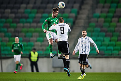 Endri Cekici of NK Olimpija during the football match between NK Olimpija Ljubljana and NS Mura in 25. Round of Prva liga Telekom Slovenije 2019/20, on March 8, 2020 in Stadion Stozice, Ljubljana, Slovenia. Photo by Grega Valancic / Sportida