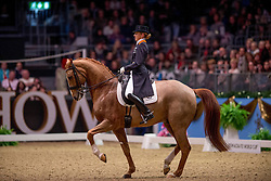 Van Baalen Marlies (NED) - BMC Miciano<br /> Kur - Reem Acra FEI World Cup Dressage Qualifier - The London International Horse Show Olympia - London 2012<br /> © Hippo Foto - Jon Stroud