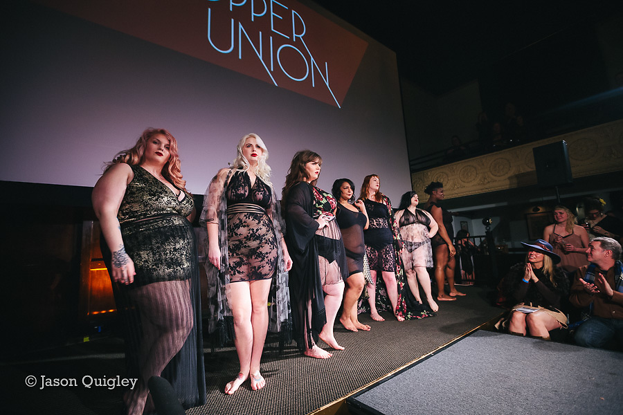 Copper Union at Unmentionable: A Lingerie Exhibition at the Mission Theater in Portland, OR. Feb. 8, 2017. Photo by Jason Quigley www.photojq.com