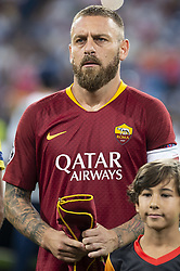 September 19, 2018 - Madrid, Spain - A.S. Roma Daniele De Rossi during UEFA Champions League match between Real Madrid and A.S.Roma at Santiago Bernabeu Stadium in Madrid, Spain. September 19, 2018. (Credit Image: © Coolmedia/NurPhoto/ZUMA Press)