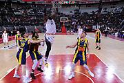 Henry Sims<br /> Virtus Roma - Givova Scafati<br /> Campionato Basket LNP 2018/2019<br /> Roma 14/04/2019<br /> Foto Gennaro Masi / Ciamillo-Castoria