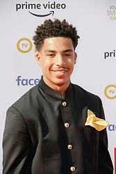 March 30, 2019 - Los Angeles, CA, USA - LOS ANGELES, CA: Trevor Jackson attends the 50th Annual NAACP Image Awards at The DOlby Theatre on March 30, 2019 in Los Angeles, California. Photo: imageSPACE (Credit Image: © Imagespace via ZUMA Wire)
