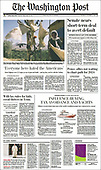 October 07, 2021 - USA: Front-page: Today's Newspapers In United States