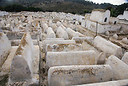 The Jewish Cemetery in Fes, Morocco