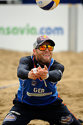 03-06-2012 VOLLEYBAL: EK BEACHVOLLEYBAL FINAL: SCHEVENINGEN<br /> Julius Brink<br /> ©2012-FotoHoogendoorn.nl