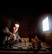 Deep Blue could calculate 200 million moves a second but Kasporov at first tricked the computer into foolish exchanges but in subsequent meeting DB crushed him.
