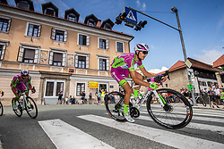 Luca COVILI of BARDIANI CSF FAIZANE during the 5th Stage of 27th Tour of Slovenia 2021 cycling race between Ljubljana and Novo mesto (175,3 km), on June 13, 2021 in Ljubljana - Novo mesto, Ljubljana - Novo mesto, Slovenia. Photo by Vid Ponikvar / Sportida