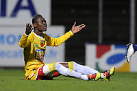 FOOTBALL - FRENCH CHAMPIONSHIP 2010/2011 - L2 - CLERMONT FOOT v LE MANS - 18/03/2011 - PHOTO JEAN MARIE HERVIO / DPPI - ABDOU ADENON (LM)