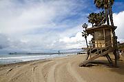 San Clemente Beach at the Pier