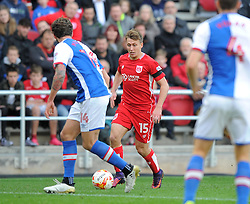 Luke Freeman of Bristol City in action during the Sky Bet Championship match between Bristol City and Blackburn Rovers at Ashton Gate Stadium on 22 October 2016 in Bristol, England - Mandatory by-line: Paul Knight/JMP - 22/10/2016 - FOOTBALL - Ashton Gate Stadium - Bristol, England - Bristol City v Blackburn Rovers - Sky Bet Championship