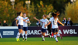 Kit Graham of Tottenham Hotspur Women scores goal making it 1-1- Mandatory by-line: Nizaam Jones/JMP - 27/10/2019 - FOOTBALL - Stoke Gifford Stadium - Bristol, England - Bristol City Women v Tottenham Hotspur Women - Barclays FA Women's Super League