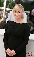 Actress Reese Witherspoon at the Mud photocall at the 65th Cannes Film Festival France. Saturday 26th May 2012 in Cannes Film Festival, France.