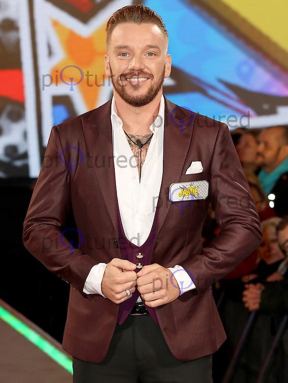 Jamie O'Hara, Celebrity Big Brother: WInter 2017 - Live Launch Show, Elstree Studios, Elstree UK, 03 January 2017, Photo by Brett D. Cove