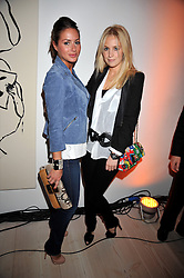 Left to right, SASKIA BOXFORD and MARISSA MONTGOMERY at the presentation of the Veuve Clicquot Business Woman Award 2009 hosted by Graham Boyes MD Moet Hennessy UK and presented by Sir Trevor Macdonald at The Saatchi Gallery, Duke of York's Square, Kings Road, London SW1 on 28th April 2009.