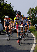 UK, Chelmsford, 9 August 2009: Images from Chelmer Cycling Club's ERRL Road Race 102 km. Regional A event for cat 2, 3, 4 and junior. Photo by Peter Horrell / http://peterhorrell.com...