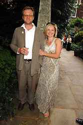 MARIELLA FROSTRUP and her husband JASON McCUE at the 20th annual House of Lords v House of Commons Tug of War in aid of Macmillan Cancer Support held on Abingdon Green, Westminster, London on 13th June 2007.<br /><br />NON EXCLUSIVE - WORLD RIGHTS