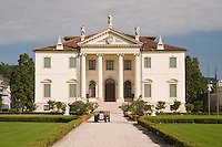 VILLA CORDELLINA LOMBARDI (architetto Giorgio Massari 1735), MONTECCHIO MAGGIORE (VI), VENETO, ITALIA