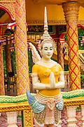 Buddhist Temple, Koh Oknha Tey Island, Cambodia